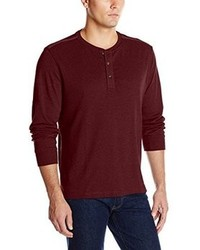 Arrow Long Sleeve 3 Button Henley