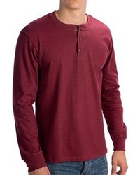 North Point Henley Shirt Long Sleeve