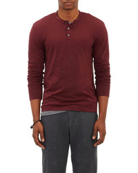 James Perse Sueded Henley