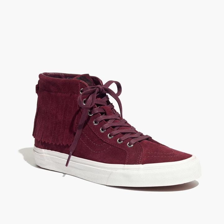 1bf3d9b30c Madewell Vans Sk8 Hi Moccasin High Top Sneakers