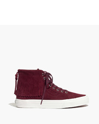 Madewell Vans Sk8 Hi Moccasin High Top Sneakers