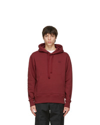 Acne Studios Red Patch Hoodie