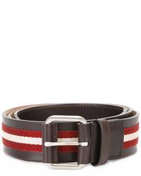Bally Stripe Panel Belt