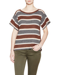 Calypso St. Barth Erlina Cashmere Striped Sweater