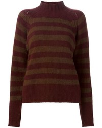Striped sweater medium 352666