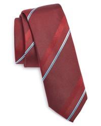 BOSS Tonal Stripe Silk Tie