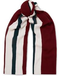 Acne Studios Ninos Striped Wool Scarf