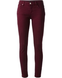 Burgundy jeans original 1509531