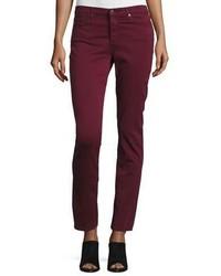 AG Jeans Ag Prima Mid Rise Cigarette Jeans Wine