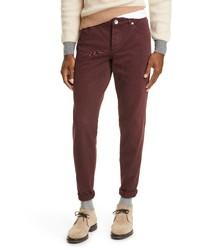 Brunello Cucinelli Overdye Denim Five Pocket Jeans
