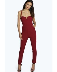 cd2ce3fb6ef ... Boohoo Boutique Mary Strappy Woven Jumpsuit