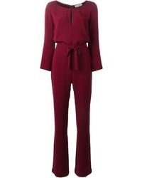 L'Autre Chose Chest Cutout Long Sleeves Jumpsuit
