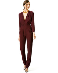 Women's Burgundy Jumpsuits from Rent The Runway | Women's Fashion