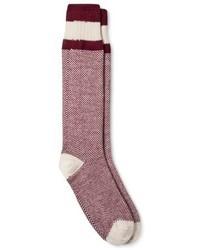 Wigwam Casual Socks Burgundy One Size Fits Most