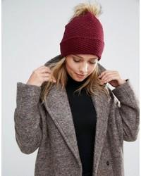 Alice Hannah Woven Stitch Knit Beanie
