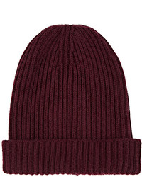 English rib knit cashmere beanie medium 6860827