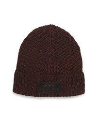John Varvatos Star USA Plated Merino Wool Beanie