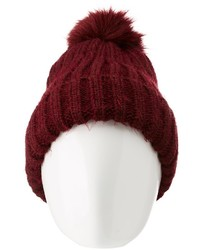 Pom pom knit beanie medium 6860836