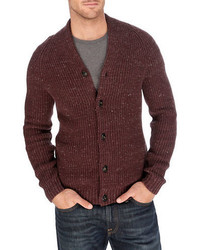 Lucky Brand Clyde Ribbed Knit Cardigan