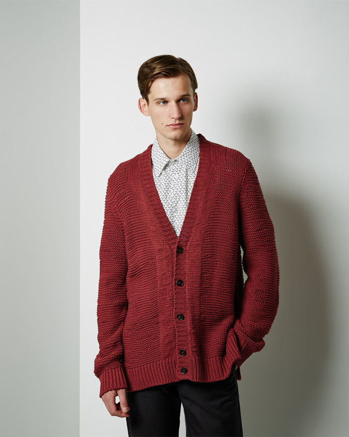 Maison Margiela Line 14 Chunky Knit Cardigan | Where to buy & how ...