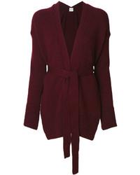 Tie waist knit cardigan medium 5252641