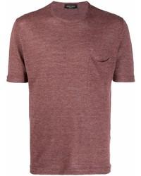 Roberto Collina Fine Knit Pocket T Shirt