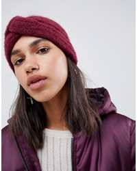 ASOS DESIGN Fluffy Knit Headband