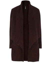 Burgundy chunky cardigan medium 116368