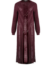 Dex Long Knit Cardigan