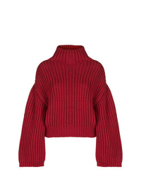 Lanvin Oversized Turtle Neck Sweater