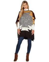 Pendleton Knit Poncho Sweater