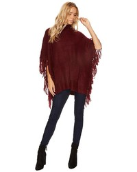 Steve Madden Patches Of Me Knit Poncho Clothing