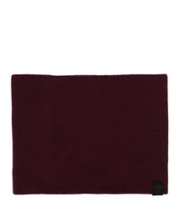 Rag and Bone Burgundy Cashmere Ace Snood Scarf