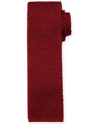 Tom Ford Solid Knit Silk Tie
