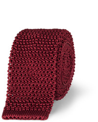 5cm knitted silk tie medium 355959