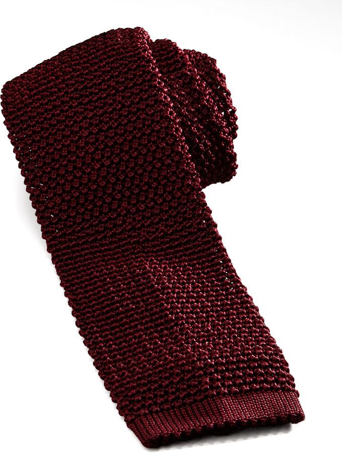 burgundy knit tie charvet knit silk tie where