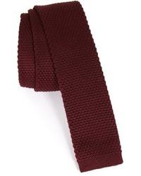 Topman Textured Knit Tie