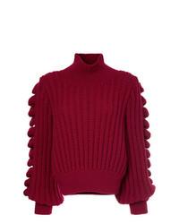 Hand knitted turtleneck jumper medium 8308818