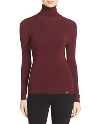 Ted Baker London Smone Rib Knit Turtleneck
