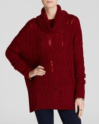 Free People Sweater Complex Cable Turtleneck
