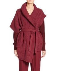 Burgundy Knit Vest