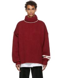UNIFORME Roll Neck Virgin Wool Cashmere Sweater