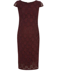 Dorothy Perkins Maternity Berry Lace Bodycon Dress