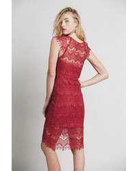 Peekaboo lace slip by intimately at free people medium 419192