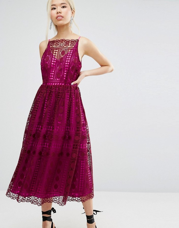 Asos Asos Lace Prom Dress Where To Buy How To Wear