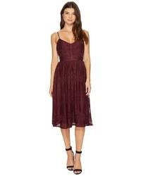 BB Dakota Galina Lace Fit Flare Midi Dress Dress