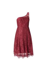 Martha Medeiros Lace Asymmetric Dress