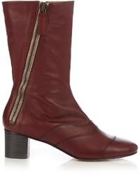 Chloé Chlo Lexie Leather Ankle Boots