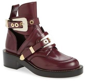 ... Balenciaga Cutout Buckle Boot ... 43dfcfb8fa93