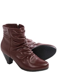Blondo Diva Leather Ankle Boots